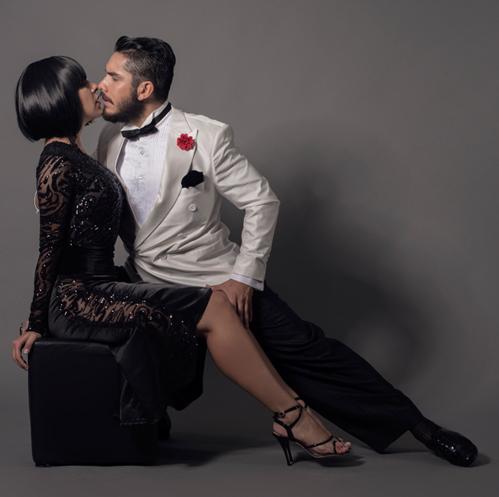 Virginia Pandolfi y Jonatan Agüero Tango